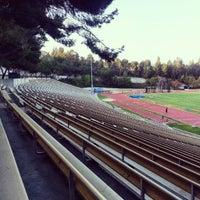 Photo taken at UCLA Drake Track & Field Stadium by Jon B. on 4/13/2013