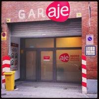 Foto tomada en garAJE Madrid por David M. el 1/26/2013