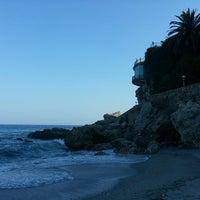 Photo taken at Calahonda Beach by Seokjin Y. on 6/24/2014