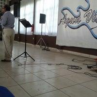 Photo taken at Iglesia Cristiana Agua Viva by Abi S. on 8/31/2014