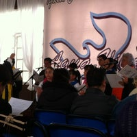 Photo taken at Iglesia Cristiana Agua Viva by Abi S. on 10/27/2013