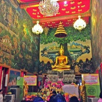 Photo taken at Wat Rai King (Wat Mongkhon Chindaram) by Jamye K. on 12/30/2012