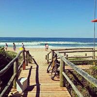 Photo taken at Praia Brava by Rafael Felipe S. on 4/20/2013
