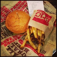 Photo taken at Epic Burger by Victoria E. on 1/23/2013