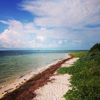 Photo taken at Bahia Honda Key by Victoria E. on 10/22/2013