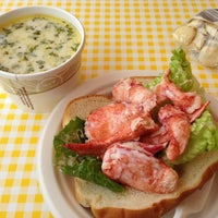 Photo taken at Geno's Chowder and Sandwich Shop by Michael E. on 6/27/2013