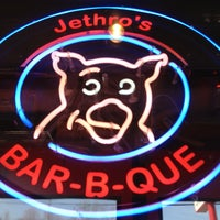 Photo taken at Jethro's BBQ by Christian B. on 4/28/2013