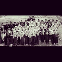 Photo taken at SMA Negeri 24 Bandung by Ines A. on 2/13/2014