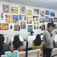 Photo taken at Painting Lounge by Paige A. on 3/23/2014