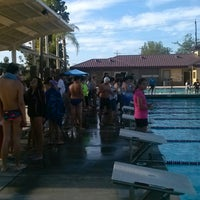 Photo taken at Rosemead Aquatic Center by Byron K. on 10/4/2014