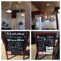 Photo taken at Cafe Gold Coast by Kazuhiro S. on 1/7/2014