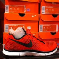 Photo taken at Nike Factory Store by Jose on 5/6/2013