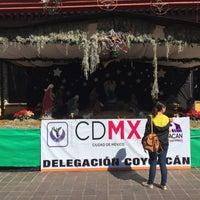 Photo taken at Delegación Coyoacán by Inti A. on 12/14/2016