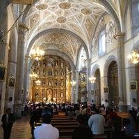 Photo taken at Templo de Santo Domingo by Inti A. on 11/11/2012