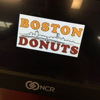 Photo taken at Boston Donuts by Bil G. on 12/18/2016