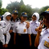 Photo taken at SMA Negeri 6 Bogor by Shadila F. on 10/29/2013