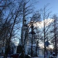 Photo taken at Церковь Рождества Богородицы в Образцово by Tatyana B. on 1/25/2013