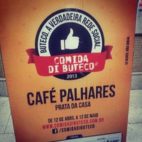 Photo taken at Café Palhares by Leonardo S. on 5/7/2013