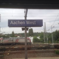 Photo taken at Aachen West Station by Wilco d. on 5/21/2014