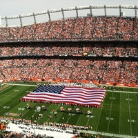 Photo taken at Sports Authority Field at Mile High by Matt A. on 9/27/2012
