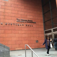 Photo taken at Jon M. Huntsman Hall by Laura A. on 4/23/2013