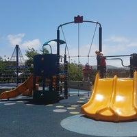 Photo taken at Sunnyside Playground & Recreation Center by Serafina K. on 6/12/2017