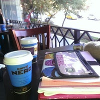 Photo taken at Caffé Nero by Gonca B. on 10/20/2013