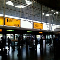 Photo taken at London Stansted Airport (STN) by Ruben F. on 6/16/2013