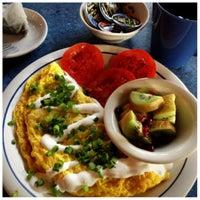 Photo taken at Bouldin Creek Café by Dana T. on 11/1/2012