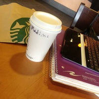 Photo taken at Starbucks by Medina G. on 3/27/2013