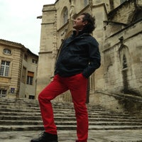Photo taken at Parvis Saint Agricol by Елена П. on 4/29/2013