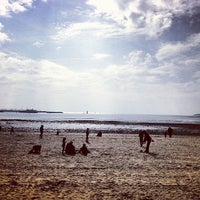 Photo taken at Plage de la Concurrence by Thibault N. on 4/1/2013