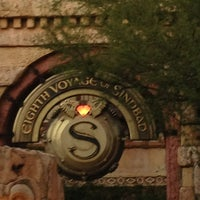 Photo taken at The Eighth Voyage Of Sindbad Stunt Show by _Zack_ on 12/29/2012