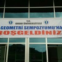 Photo taken at Ordu Üniversitesi by Sümeyye G. on 7/1/2013