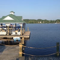 Photo taken at Woodlake Boathouse by Joey P. on 7/12/2014