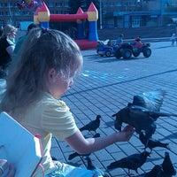 "Photo taken at Фонтан светомузыкальный ""Торнадо"" by Ann M. on 7/24/2013"