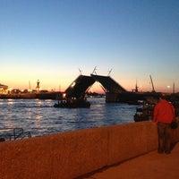 Photo taken at Palace Bridge by Дима🌌 on 6/8/2013