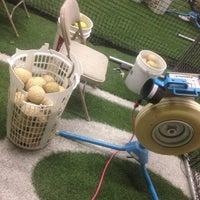 Photo taken at Bud Maddux Baseball Academy by Jonathan R. on 5/26/2014