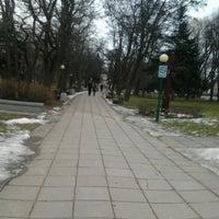 Photo taken at Danės skveras by Gin T. on 3/2/2013