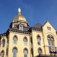 Photo taken at University of Notre Dame by Erin M. on 11/17/2012