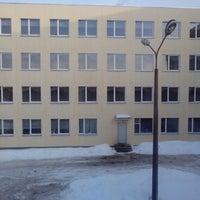 Photo taken at Dagdas vidusskola by Mikhail A. on 3/10/2013