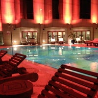 Photo taken at Fairmont Dubai by Ibrahim M. on 12/29/2012