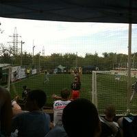 Photo taken at Парк Футбола by Анна А. on 8/25/2013