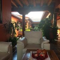 Photo taken at Hotel Pueblo Magico by Pedro L. on 5/7/2016