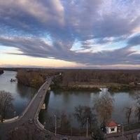 Photo taken at Finánc-dombi kilátó by Lea R. on 11/11/2017
