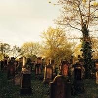 Photo taken at Alter Jüdischer Friedhof by Sylvia B. on 3/29/2014