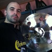 Photo taken at Bosphorus Cymbals by Robert Mehmet SInan I. on 4/13/2013