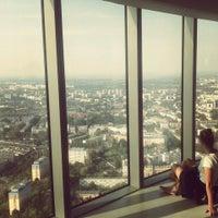 Photo taken at Punkt Widokowy Sky Tower by Monika Ż. on 9/17/2014