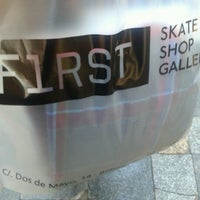 Photo taken at First Skate Shop by East L. on 1/5/2013