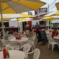 Photo taken at The Clam Bar by Olga E. on 7/28/2013